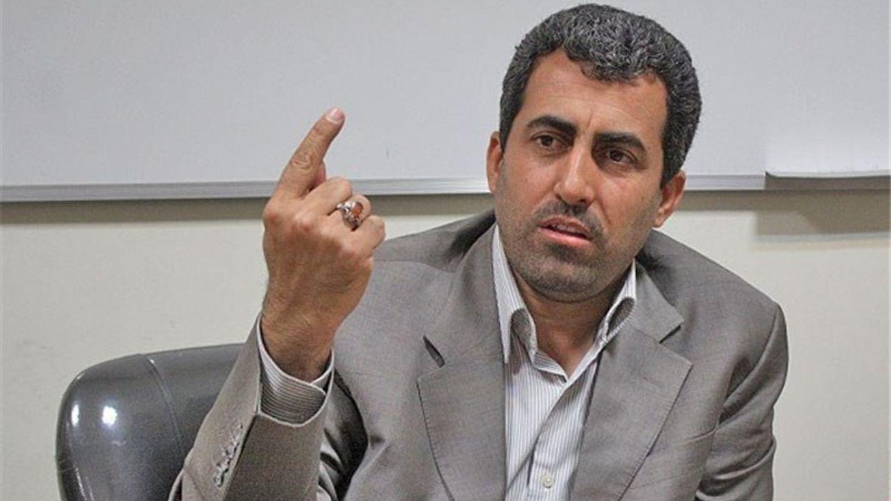 تصویر گلایه مدیر عامل شرکت تأمین آتیه کارکنان گهرزمین از پورابراهیمی