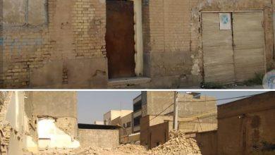 تصویر در ادامه تخریب سریالی بناهای با ارزش در اهواز: خانه پدری کیانوش عیاری تخریب شد