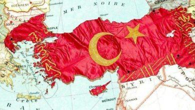 """تصویر سال گذشته: انتشار نقشه متوهمانه """"ترکیه بزرگ"""" در حساب توییتر نماینده پارلمانی حزب عدالت و توسعه"""