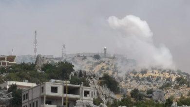 تصویر شلیک موشکهای ضد زره از سمت لبنان به نیروهای صهیونیست
