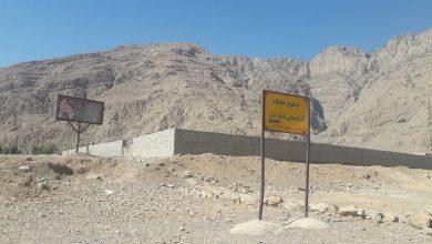 """تصویر تجاوز به حریم منطقه باستانی """"خونگ اژدر"""""""