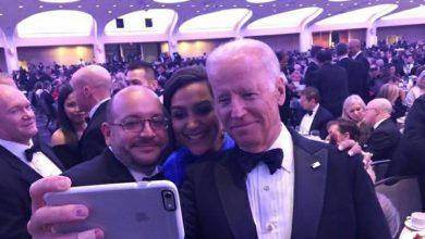 تصویر سلفی خبرنگار واشنگتن پست با جوبایدن
