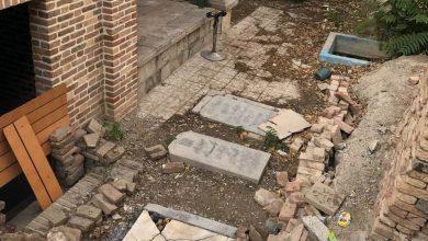 تصویر وضعیت آرامگاه شهدای مشروطه در زمان حاضر: مقبره شهدای مشروطه به چاه ویل سازمان زیباسازی راه دارد؟