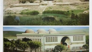 تصویر آب گرفتگی در عرصه میراث جهانی کاخ اردشیر است نه حریم