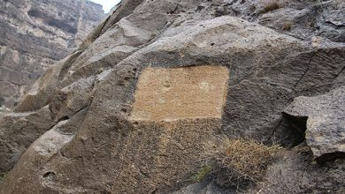 تصویر تعرض به سنگ نبشتۀ جهانی پُلِ «مِهرنَرسهِ» فیروزآباد