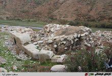 تصویر پل ساسانی و جهانی فیروزآباد زباله دانی شد
