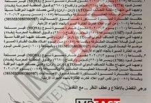تصویر سند اجازه عراق به پهپادهای آمریکایی شب ترور شهید قاسم سلیمانی