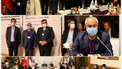 تصویر زاهدی به ریاست کمیته دائمی مجمع مجالس آسیایی انتخاب شد