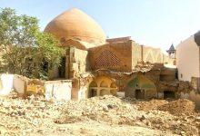 تصویر چشم مسجد رحیم خان کور شد
