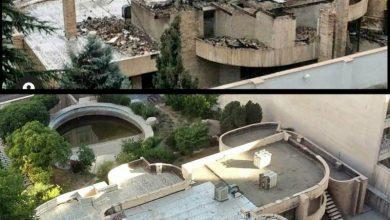 تصویر ادامه تخریب معماری معاصر تهران