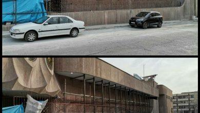 تصویر تعرض بنیاد مستضعفان به معماری موزه دفینه