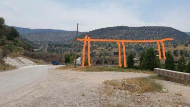 تصویر مخدوش شدن منظر تاریخی مجموعه پل های پاتاوه