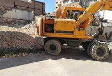 تصویر خانه احمد محمود در اهواز تخریب شد