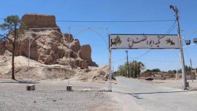 تصویر تجمع حامیان میراث فرهنگی و طبیعت کرمان در دفاع از قلعه دختر