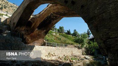 تصویر پل تاریخی کرج در فراموشی