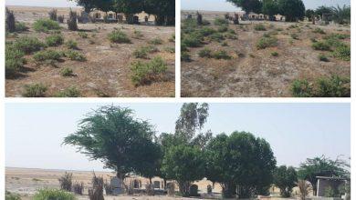 تصویر حفر قبرهای جدید در حاشیه تپه باستانی«تُل گِسِر»!