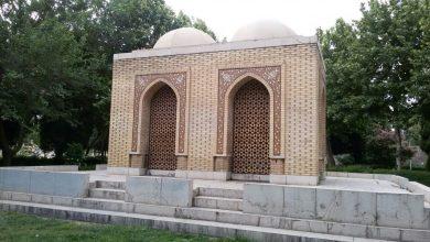 تصویر غربت غمگسار آرامگاه پوپ در اصفهان