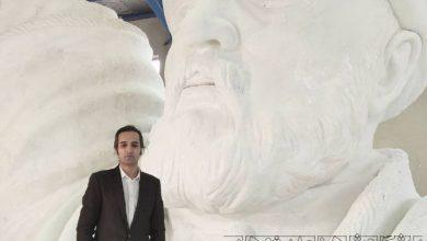 تصویر می خواهند تندیس بزرگ فردوسی را به تاجیکستان منتقل کنند / مانع پیشرفت توس هستند