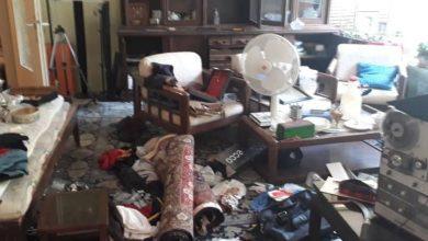 تصویر دزد به خانه محمود اعتمادزاده (میمالف بهآذین) در محله صادقیه تهران زد