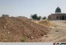 تصویر ساخت و ساز در عرصه شهر باستانی دارابگرد!