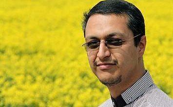 تصویر هادی کسایی زاده خبرنگار در اندرزگاه ۲ زندان فشافویه در اتاق ۴ زندانی است