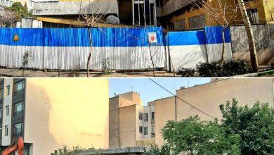 تصویر بنای ارزشمند محله باغ صبا تخریب شد