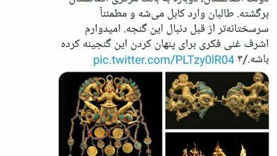 تصویر درخواست برای صیانت از میراث فرهنگی افغانستان
