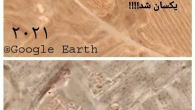 تصویر مشهودترین بقایای معماری شهر تاریخی ارگان(ارجان) با خاک یکسان شد