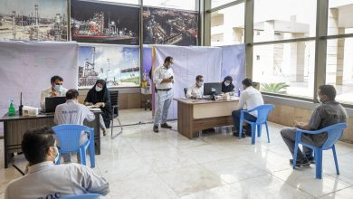 تصویر واکسیناسیون کارکنان شرکت نفت ستاره خلیجفارس آغاز شد
